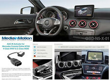 MEDIA-IN-MOTION AUX IN ACTIVATOR FOR MERCEDES COMAND ONLINE NTG5 / 5.1