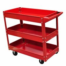 Workshop Trolley Heavy Duty Cart Tray Mechanic Handyman up to 100kg 3 Tier