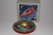 Made in Western Germany Tin Flying Saucer with Original Box