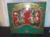 Mr. Christmas Holiday Carousel Ornaments Lights Non musical Special Edition