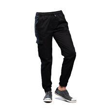 Cargohosen Comfort Fit Men's Trousers Long Casual S-2XL Black & Olive