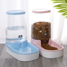 Automático dispensadores de agua/Seco Comida Para Mascotas Perro Gato Conejo bebida Bowl PLATO 3.5l