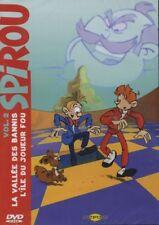 DVD Spirou et Fantasio La vallée des bannis + l'ile du joueur fou
