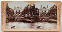 Monaco Installa Carlo Il Casinò Stereo Vintage Verso 1900