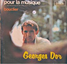 ++GEORGES DOR pour la musique/bouclier SP 1972 DECCA RARE VG++