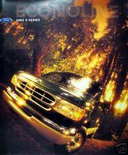 2000 Ford Econoline wagon new vehicle brochure