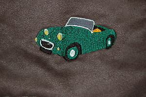 Austin Healey Frogeye Sprite embroidered on Polo Shirt