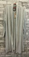 UGG Australia Long Grey 100% Cotton Cardigan - (NCF)