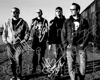 Volbeat signed 8X10 inch photo poster picture autograph RP
