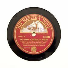 "THE MELACHRINO ORCHESTRA ""Legend Of Frankie & Johnnie"" (E+) 12"" HMV C-4004 [78]"