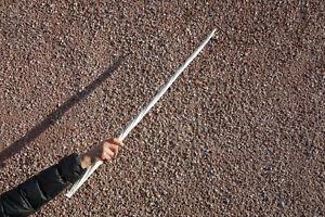 Narwhal Tusk / Horn Replica 85cm 350g Brilliant White Polyurethane Elastomer