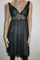 TARGET Brand Black Mesh Embellished Party Dress Size 10 BNWT #RF46