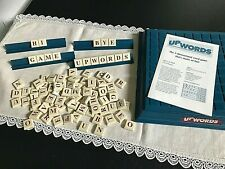 UPWORDS 3-D Word Game by Milton Bradley Pre-Owned and Complete