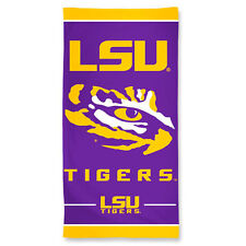 brand new 36381 2ce1a LSU Tigers Fiber Beach Towel 30