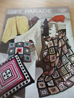 VINTAGE BELLMANS 1960s KNITTING CROCHET PATTERN BOOKLET GIFT PARADE 16+ ITEMS