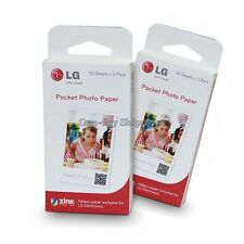 LG PS2203 Print Paper Film ZINK Pocket Photo 30pcs PD251 PD233 PD239 Printer