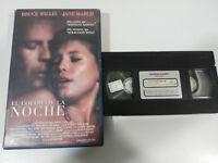 Il Colore de La Notte Bruce Willis Jane March Rush VHS Nastro Castellano