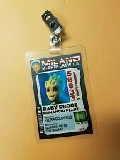 Guardians of the Galaxy Ship Crew ID Badge-Baby Groot Humaniod Plant cosplay