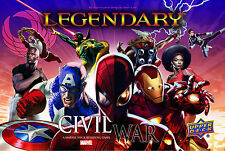 NEW Upper Deck Marvel Legendary Civil War Expansion Big Box Set