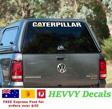 Caterpillar CAT logo BIG 1 metre 1000mm Car Sticker JDM Vinyl Decal Aus Seller