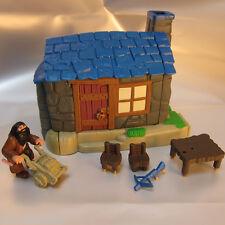 Polly Pocket Harry Potter Hagrids Hütte Hagrid Tisch Sessel Armbrust Hogwarts