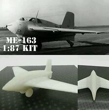Messerschmitt Me-163 WW2 Kit Bausatz 1:87 3D Druck