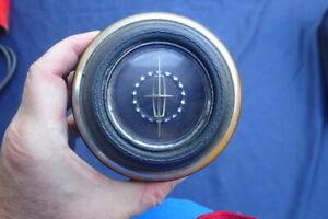 1967 Lincoln horn button, dark blue, nice!