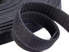 3 Meter Klettverschluss Klettband 20 mm Beidseitig Kabelbinder Schwarz