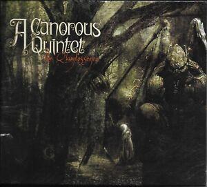 A CANOROUS QUINTET-THE QUINTESSENCE-DOBLE DIGI PAK-Swedish-melodic-death