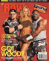 WWF Raw Magazine April 2002 The Dudleys, Stacy Keibler, Val Venis VG 032916DBE
