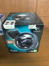 Xbox 360 - DriveFX Racing steering wheel with foot pedal [Logitech] boxed