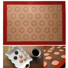 Reusable Silicone Oven Liner Macaroon Bake Tray Mat Cookie Cooking Sheet