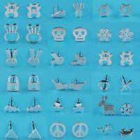 tréfilage 925 argenté oreille étalon des bijoux les femmes boucle d'oreille