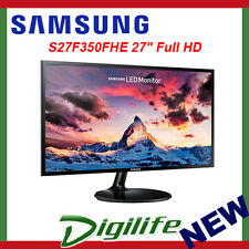 "Samsung 27"" LED Gaming Monitor S27F350FHE 5MS FHD 1080P HDMI VGA PLS FreeSync"
