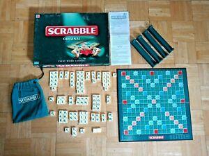 Scrabble Original Board Game - Mattel - 2003 - Complete