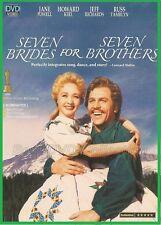 Seven Brides for Seven Brothers (1954) - Howard Keel, Jeff Richards - DVD NEW