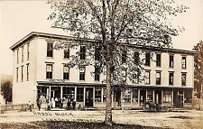 c.1910 RPPC Stores Hand's Block Lebanon Springs NY Columbia County Scarce