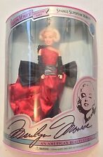 Mattel Barbie Marilyn Monroe Sparkle Superstar 1993 w/ COA