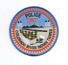 **COLORADO RIVER INDIAN TRIBES POLICE PATCH**