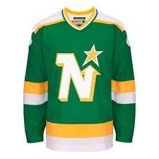 Minnesota North Stars Ccm зеленый классический аутентичный футболку команды Джерси Мужские