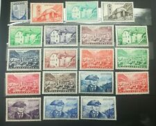 TIMBRES ANDORRE Française 1948/51 - N°119 A 137 Neufs COTE 150€ / n°18