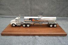 Montgomery Tank Lines Plant City, FL '95 Winross Truck on walnut base