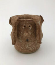 Vintage Bledsoe Pottery Face Mug 1980