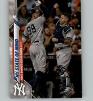2020 Topps Mini On Demand JUDGE/SANCHEZ Base Mini Yankees NY State of Mind #591