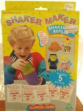 vintage shaker maker refill kit toymax 1992 toy new nos