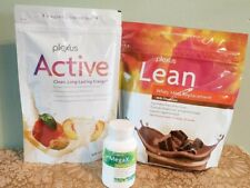 Plexus Lean Whey Meal replacement Chocolate, New Active & Mega X Combo Pack
