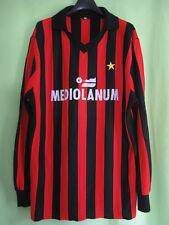 Maillot Milan Ac Mediolanum calcio Vintage Jersey Football Shirt - XL