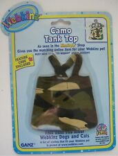 Webkinz Camo Tank Top GANZ Kinzstyle Fits Most Dogs and Cats