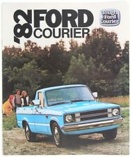 Ford 1982 Courier Pickup Truck Dealer Sales Brochure