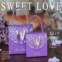 Candy Box Wedding Candy Box 10PCS Birthday Gift Box Party Supplies Flower